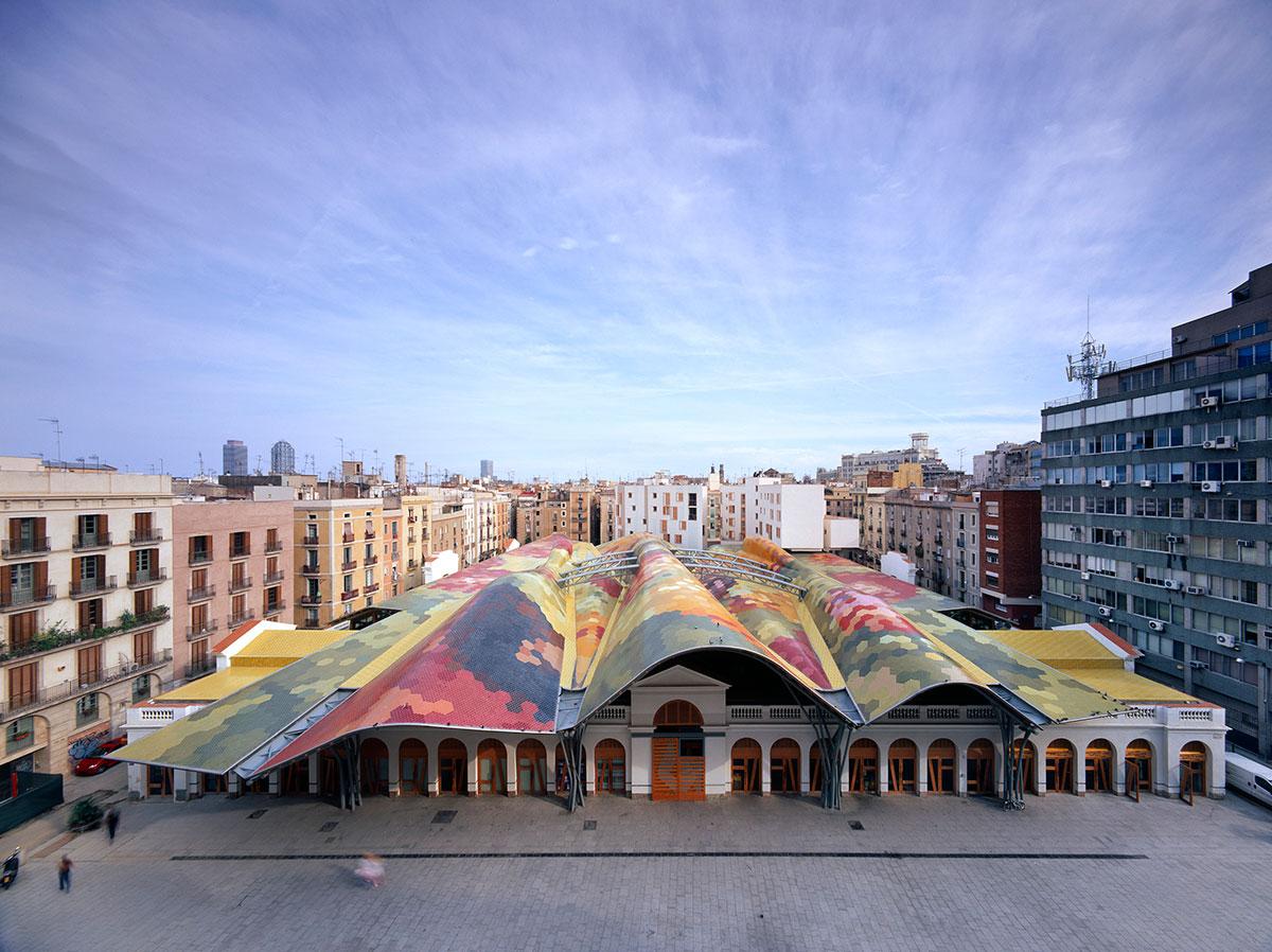 Santa Caterina market. Barcelona