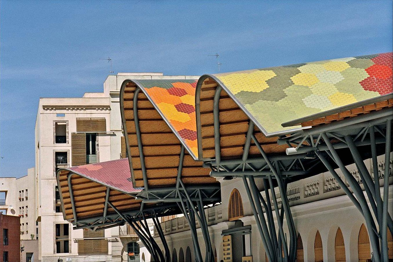 Rehabilitación del Mercado de Santa Caterina, Barcelona. 1997-2005